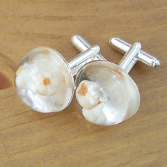 Garlic cufflinks