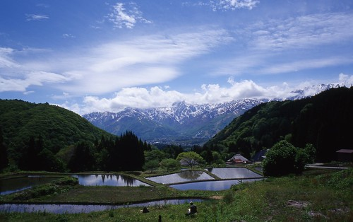 The landscape of Hakuba