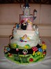 Super Mario Bros Groom's Cake (rehearsal dinner photo)