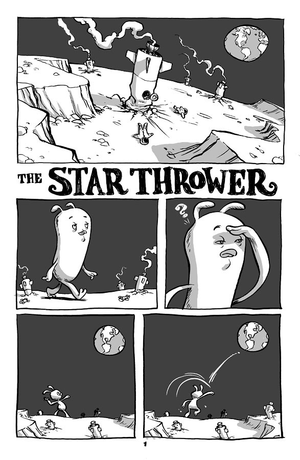 The Star Thrower pg 1