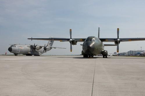 A400M y C-160