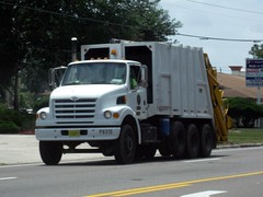 Rockledge, FL Sterling / Pak-Mor REL - PW 31 D (FormerWMDriver) Tags: city public trash truck garbage florida rear collection more pack rubbish end works fl sterling waste division refuse loader load department mor rl sanitation pac pak rel rockledge rearloader pakmor rearload lt7500