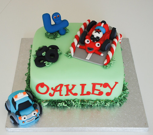 ROARY THE RACING CAR BIRTHDAY CAKE