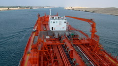 Bow Favour in Suez (Gunnar the Grey) Tags: ocean sea bow tanker favour odfjell