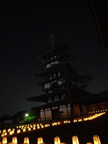 薬師寺(ひかりの天空夢)@西ノ京-15