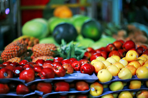 Skeldon market, Guyana