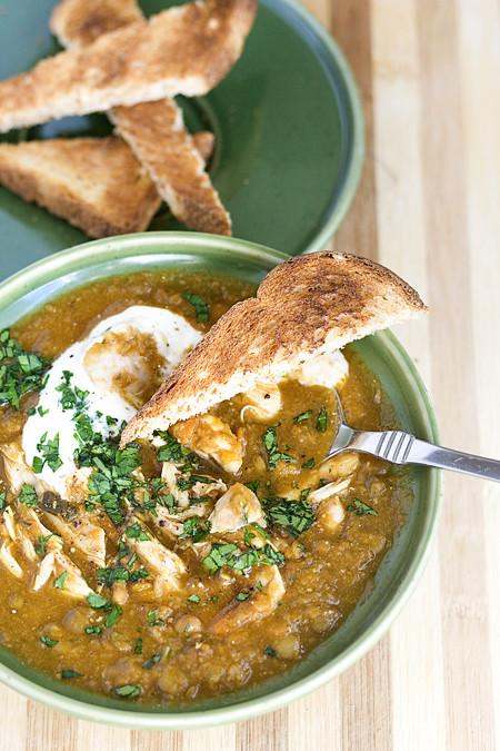 Moroccan Lentil Soup (1)