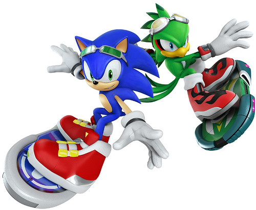 Sonic Free Riders - Key Art
