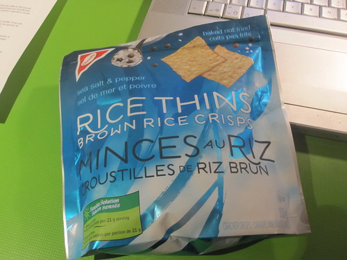 rice crackers (free with groceries)