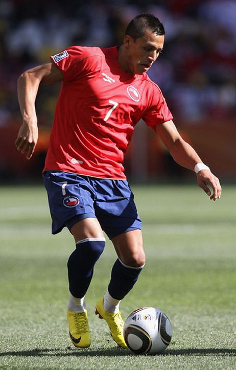 More Pictures of Alexis Sanchez
