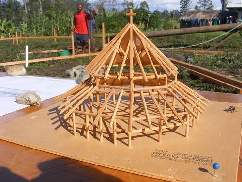 Modell der Kirche von Banz
