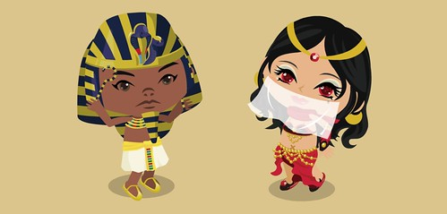 Egypt - Pharaoh's chamber - treasure boogie