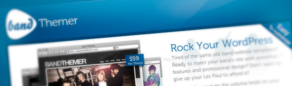 Band Themer | WordPress Themes for Bands