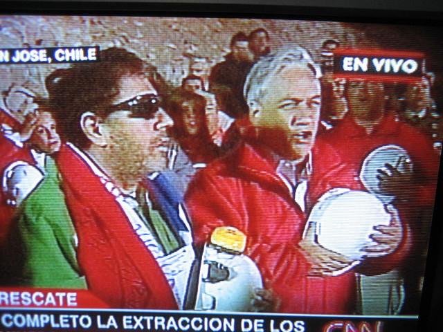 Foto rescate Luis Urzúa Piñera cantando
