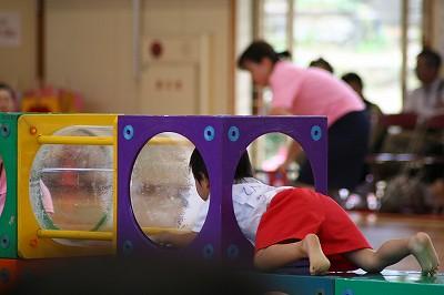 2歳児運動会