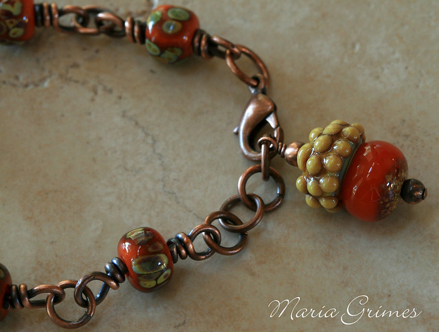 Fall Foliage Bracelet