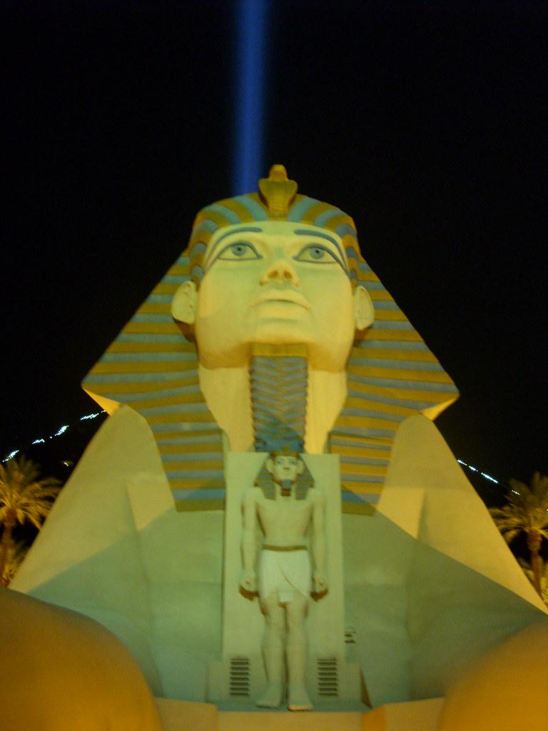 The Luxor Hotel - Night