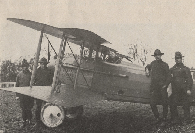 World War I Army Biplane by UA Archives  Upper Arlington History