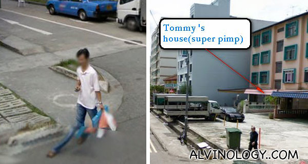 Exposed individuals, allegedly caught visiting prostitutes (pictures via Geylang Checker)