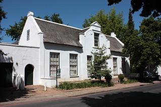 Cape Dutch house, Stellenbosch