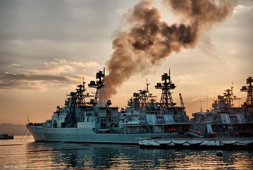 The Pacific Fleet Warships. Корабли Тихоокеанского Флота. ©  Peer.Gynt