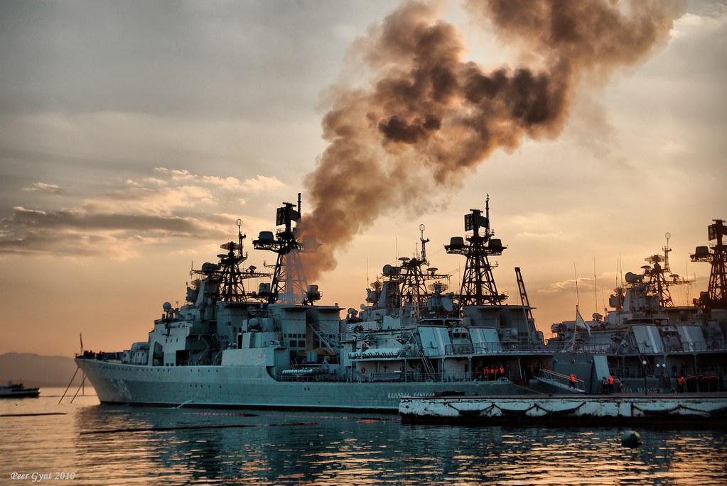 фото: The Pacific Fleet Warships. Корабли Тихоокеанского Флота.