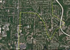 city boundary of Atlanta (via Google Earth)
