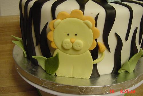 Baby Shower Cake-jungle