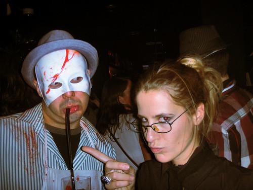 Me & Saray @ Haloween Party by adriagarcia