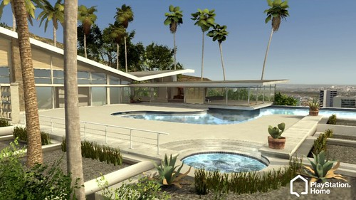 Hollywood Hills House in PlayStation Home