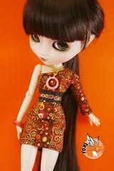 Mandee Dress (foxifaeri) Tags: fashion shop asian doll handmade clothes bjd pullip blanche couture foxi junplanning