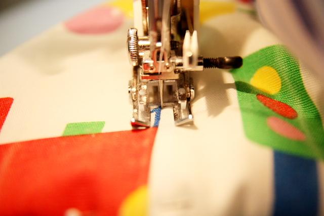 stitch in center ditch