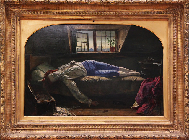 Chatterton, by Henry Wallis 1856
