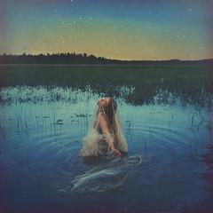 celestial (brookeshaden) Tags: brookeshaden sony selfportrait fineartphotography fineart conceptualart conceptualphotography painterlyphotography stars celestial lake water