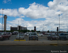 Newark airport (Aymeric B.) Tags: journey travel usa united states america trip voyage new york ny skyscrapper manatthan