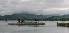 Ullswater, Cumbria (joanjbberry) Tags: ullswater cumbria lakedistrict ullswatersteamers lake mountains water trees countryside boat boattrip steamer pier
