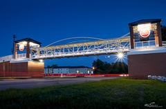 South Carolina State University: Pedestrian Overpass (MBShuler) Tags: orangeburgsouthcarolina pedestrianwalkway pedestrianbridge scstate scsu hbcu scsubulldogs southcarolinastateuniversity