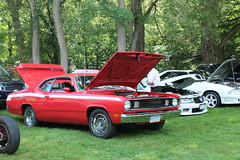 340 Duster (excellence III) Tags: car show beautiful classic cars july 4 2017 340 duster
