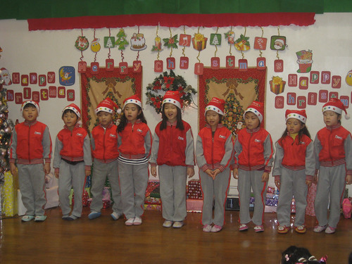 Pleasant Class Sings for Christmas