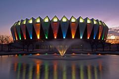 Sunrise at the Coliseum (JerryGammon) Tags: coliseum hamptonva