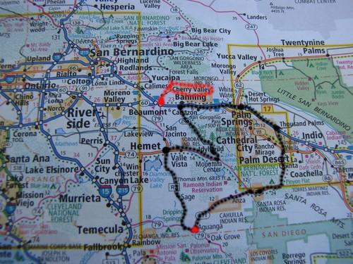 Map Christmas Drive