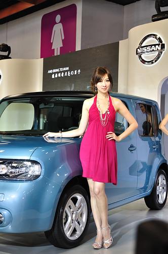 Nissan cube showgirl