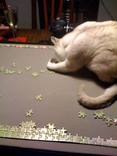 Jigsaw. Lilith helping.