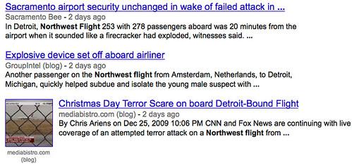 Northwest Flights in the News