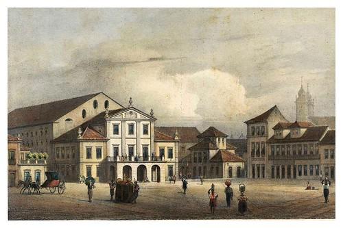026- Teatro Imperial de Rio de Janeiro-Saudades do Rio de Janeiro- Wilhelm Karl Theremin 1835
