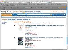 Get Seen is #8 Amazon.com Bestsellers in Blogg...