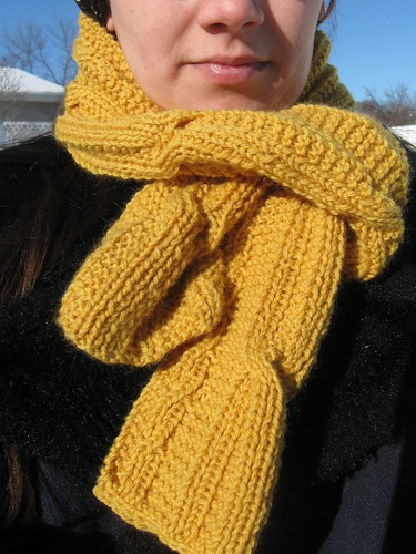 Gold Scarf