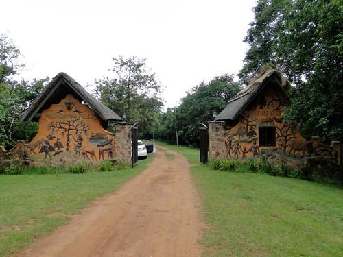 Phophonyane Falls entrance