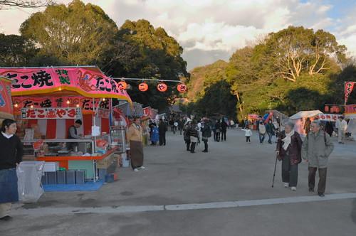 Hatsumode vendors
