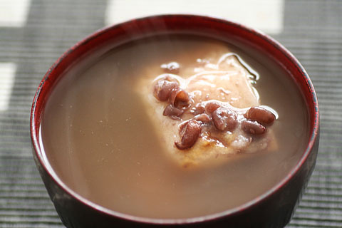 Zenzai (Red bean soupz)